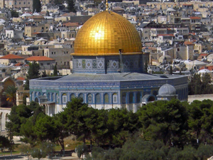Jerusalem is the cradle of religion.