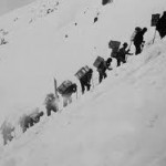 The sharp rise of the Chilkoot Trail