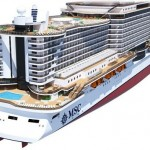 Seaside - another big cruise ship