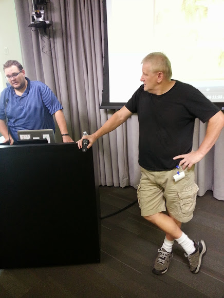 Bill Belew does a Talk at Google