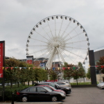 The Liverpool Wharf has a huge ferris-wheel