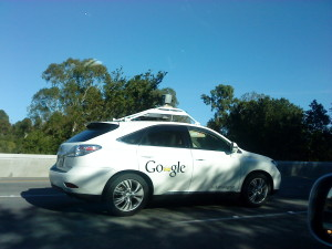 Google self - driving car.