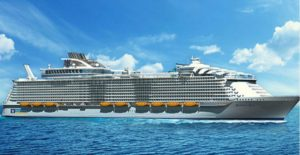 larger cruise ship